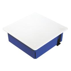 Коробка распаячная 80-0960 для скрытой проводки безгалогенная (HF) 103х103х47мм, Промрукав