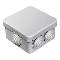 Коробка распаячная 40-0200 для открытой установки безгалогенная (HF) 70х70х40 мм, Промрукав