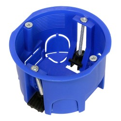 Коробка установочная 80-0600 для скрытой проводки безгалогенная (HF) 64х44 мм, Промрукав