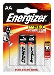 Батарейка АА алкалиновая Energizer MAX, 2шт