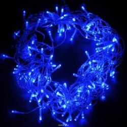 Электрогирлянда Нить 48 синих LED длина 5 м, 24 v 55002