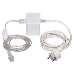 Трансформатор 220V/24V, 30 W (maХ подключение 1 500 LED ламп)55046
