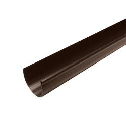 Желоб водосточный MUROL, цвет коричневый, 130 мм х 3 м