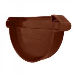 Заглушка желоба универсальная MUROL, цвет коричневый