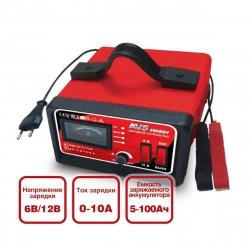 Зарядное устройство для автомобильного аккумулятора AVS Energy BT-6025, 10A, 6/12V,  43722