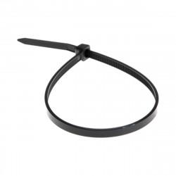 Хомут пластиковый (стяжка) 3,6*200мм черный (100шт) нейлон, REXANT 07-0201