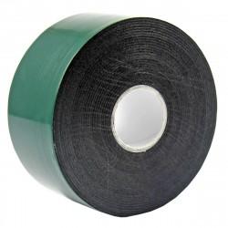 Скотч двухсторонний, зеленого цвета на черной основе, 40мм, 5м REXANT