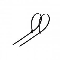 Хомут пластиковый (стяжка) 2,5*120мм черный (100шт) нейлон, REXANT 07-0121