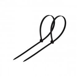 Хомут пластиковый (стяжка) 2,5*150мм черный (100шт) нейлон, REXANT 07-0151