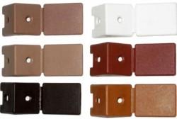 Уголок мебельный с шурупом, белый (4шт) пакет Tech-Krep