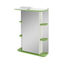 Зеркало-шкаф IKA Гиро 55 зеленый