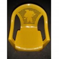 Кресло детское желтое (0,38*0,35*0,53)