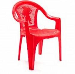 Кресло детское красное (0,38*0,35*0,53)