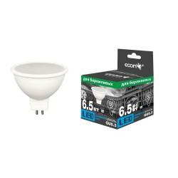 Лампа светодиодная ECON LED MR 6,5Вт GU5.3 4200K 220V ES