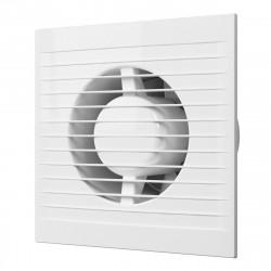 Вентилятор вытяжной осевой накладной 100мм E 100 S белый, с москит.сеткой, ЭРА