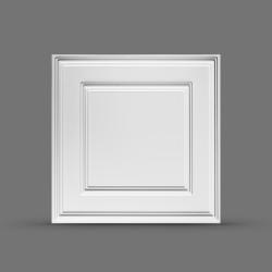 Панель облицовочная 3D ПАЛЕРМО 595х595х10 белая