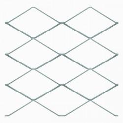 Сетка кладочная оцинкованная в картах StreckR, ячейка 50 х 50 мм, размер сетки 0,5 х 2 м (1м2)