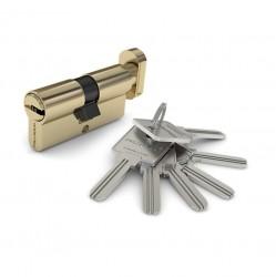 Механизм цилиндровый PALLADIUM 80 C ключ/вертушка PB(латунь)