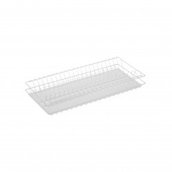 Сушилка для посуды с рамкой 565х256, белая