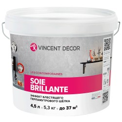 Покрытие Vincent Soie brillante декоративное 4,5л