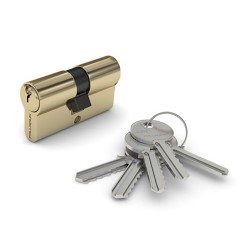 Механизм цилиндровый PALLADIUM AL 35Х45 ключ/ключ PB(латунь)