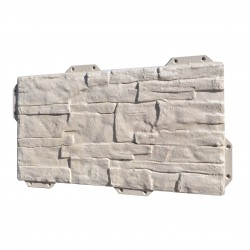 Панель фасадная Hardplast цвет серый сланец, 440 х 220 мм
