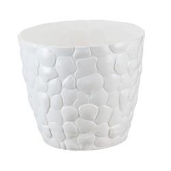 Горшок для цветов КАМНИ D220мм 4,8л белый