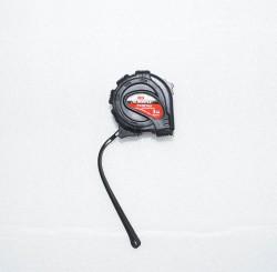 Рулетка 3м 16мм обрезиненный корпус BLACK Matrix 31013
