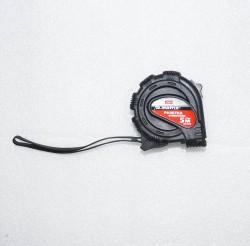 Рулетка 5м 19мм обрезиненный корпус Black Matrix 31014