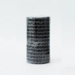 Сетка кладочная базальтовая, разрывная нагрузка 50/50, ячейка 25х25мм, сетка 0,37х25м(9,25м2, 1 рул)