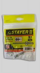 Заклепки 3,2* 6мм алюминиевые Stayer /50шт/ 3120-32-06
