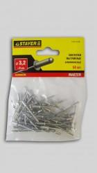Заклепки 3,2* 8мм алюминиевые Stayer /50шт/ 3120-32-08