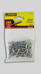 Заклепки 4,0*10мм алюминиевые Stayer /50шт/ 3120-40-10