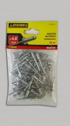 Заклепки 4,8*10мм алюминиевые Stayer /50шт/ 3120-48-10