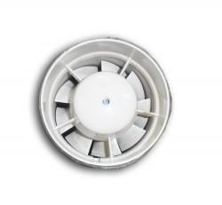 Вентилятор вытяжной осевой канальный 100мм Вентс 100ВКО белый, Vents
