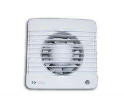 Вентилятор вытяжной осевой накладной 100мм Вентс 100МВ белый, с тяговым выкл., Vents