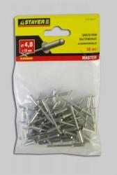 Заклепки 4,0*12мм алюминиевые Stayer /50шт/ 3120-40-12