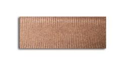 Дорожка влаговпитывающая VORTEX 1,2м ребристая, коричневый