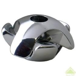 Держатель краб для 3-х труб хром (1 шт) - пакет Tech-Krep