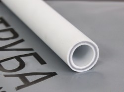 Труба PPRC PN25 армированная стекловолокном SDR 6 20*3,4мм 2м