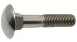 Болт DIN603 мебельный оцинк. М6х30 с гайкой (10 шт)