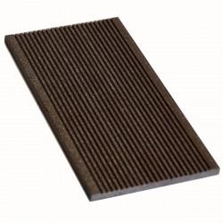 Торцевая планка Мастер Дэк Classic, цвет венге, 3000 х 130 х 9 мм