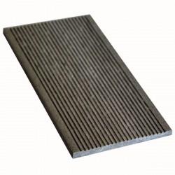 Торцевая планка Мастер Дэк Classic, цвет серый, 3000 х 130 х 9 мм