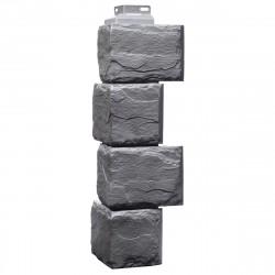 Угол внешний для фасадной панели FineBer, камень природный, цвет кварцевый, 0.447 м
