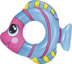 Круг надувной для плавания Рыбки 81*76см, 36111 Bestway