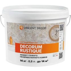 Покрытие Vincent Decorum Rustique декоративное структурное 14кг