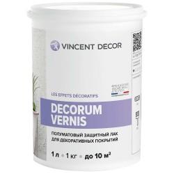 Лак Vincent Decor Decorum Vernis полуматовый 1л