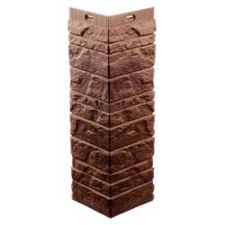 Угол для фасадных панелей Docke Edel (Отделочный камень) Родонит