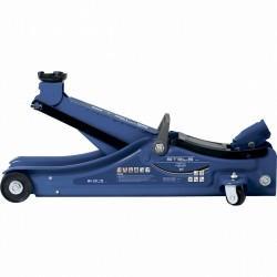 Домкрат гидравлический подкатной в пластиковом кейсе, 2 тонны, Low Profile, 80-380 мм. STELS 51130
