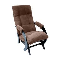 Кресло-качалка глайдер МИ Модель 68 (Венге, ткань Verona Brown)